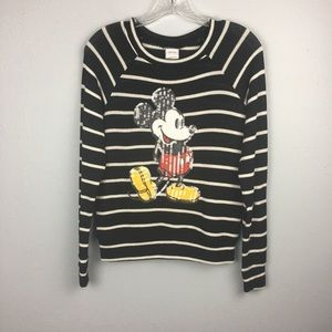 DISNEY MICKEY MOUSE LIGHTWEIGHT SWEATER SIZE S